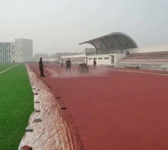 大型运动场跑道
