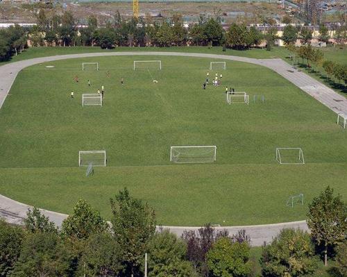 人造草坪运动场