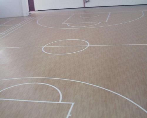 耐磨运动地板