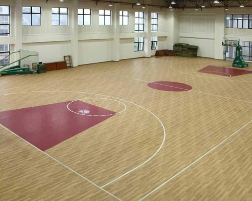 篮球场PVC运动地板