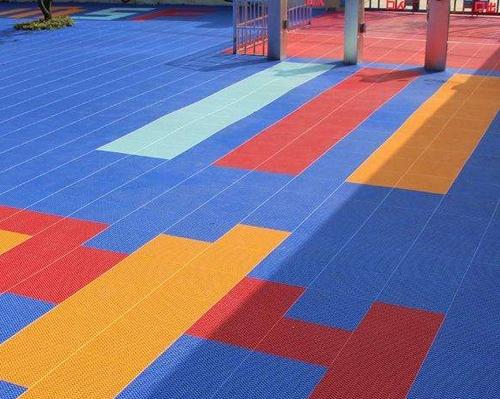 校园拼接地板