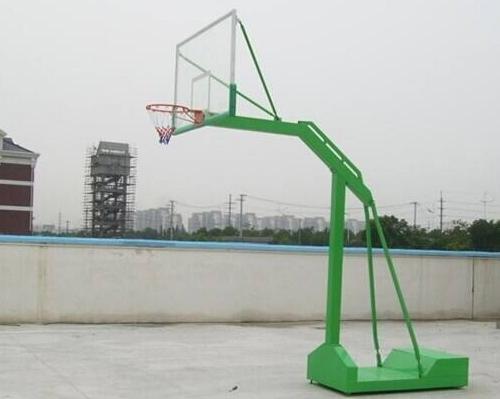 运动场蓝球架